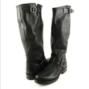Frye Veronica Slouch Motorcycle Boots size 8